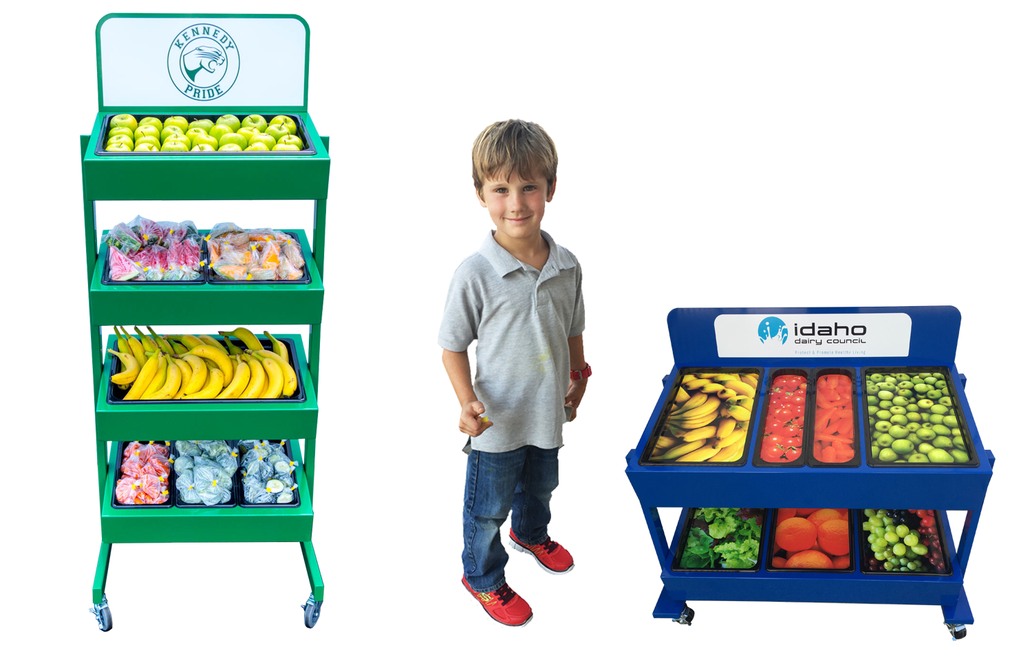 produce stands and carts - GA Systems