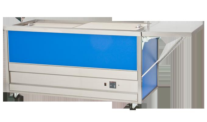 Heated Cabinet with Cash Shelf - G.A. Systems, Huntington Beach