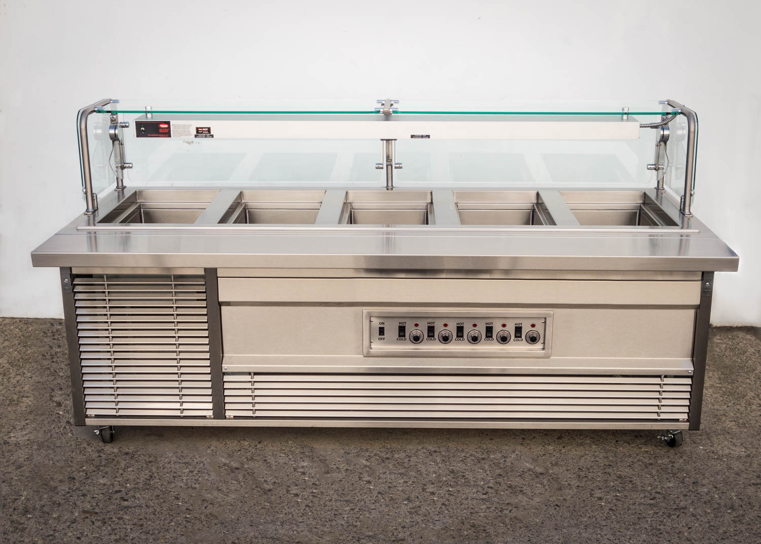 Hot Cold Dual Operation Cabinet - GA Systems