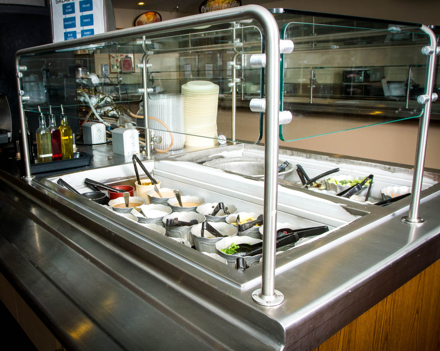 Drop In Refrigerated in a countertop - G.A. Systems, Huntington Beach