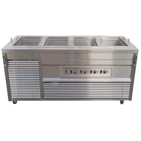 Hot Cold Dual Operation Cabinet - G.A. Systems, Huntington Beach