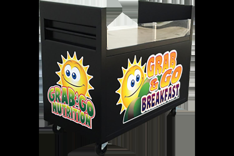 Breakfast Cart - G.A. Systems, Huntington Beach