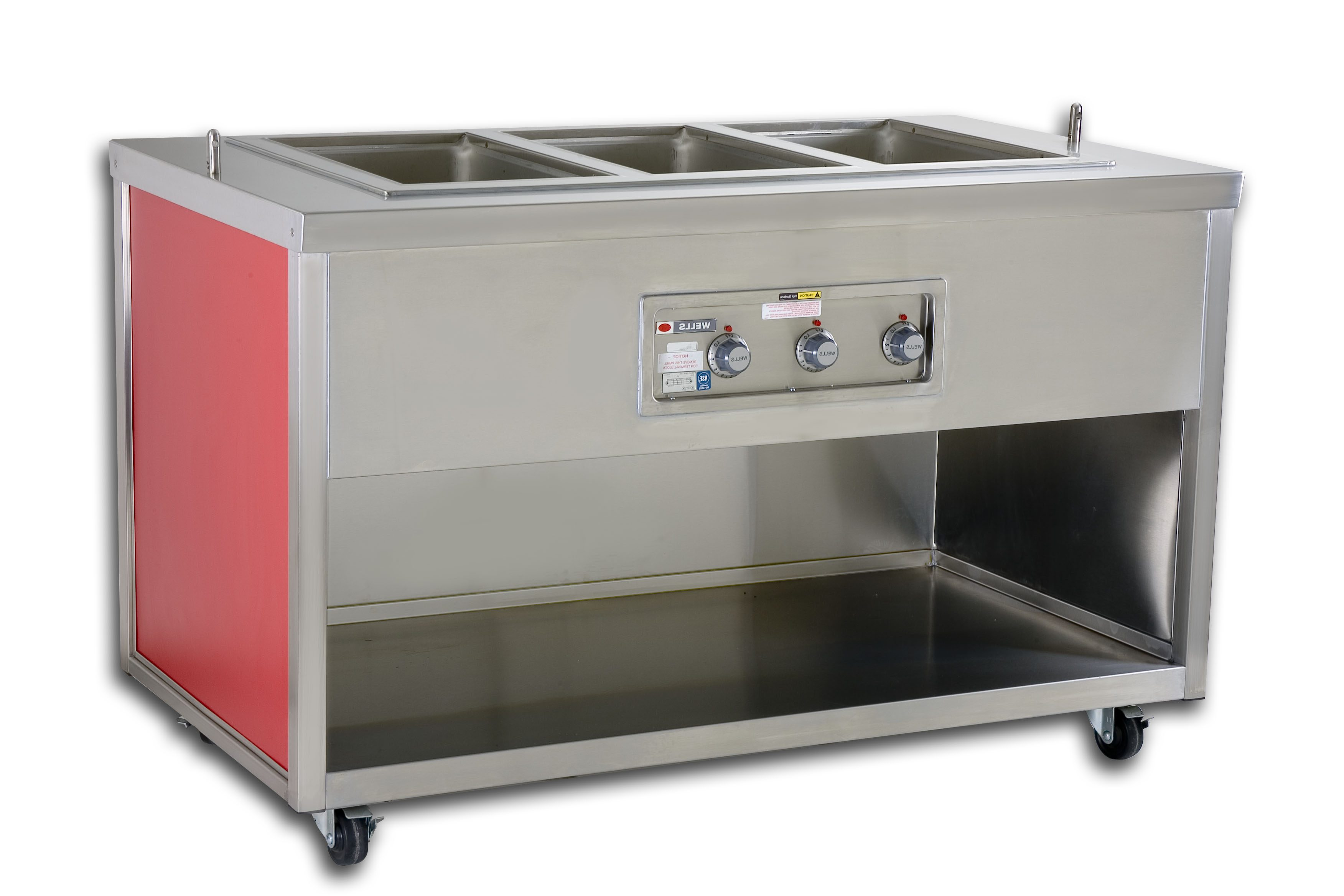 Steam Table Cabinet Picture - G.A. Systems