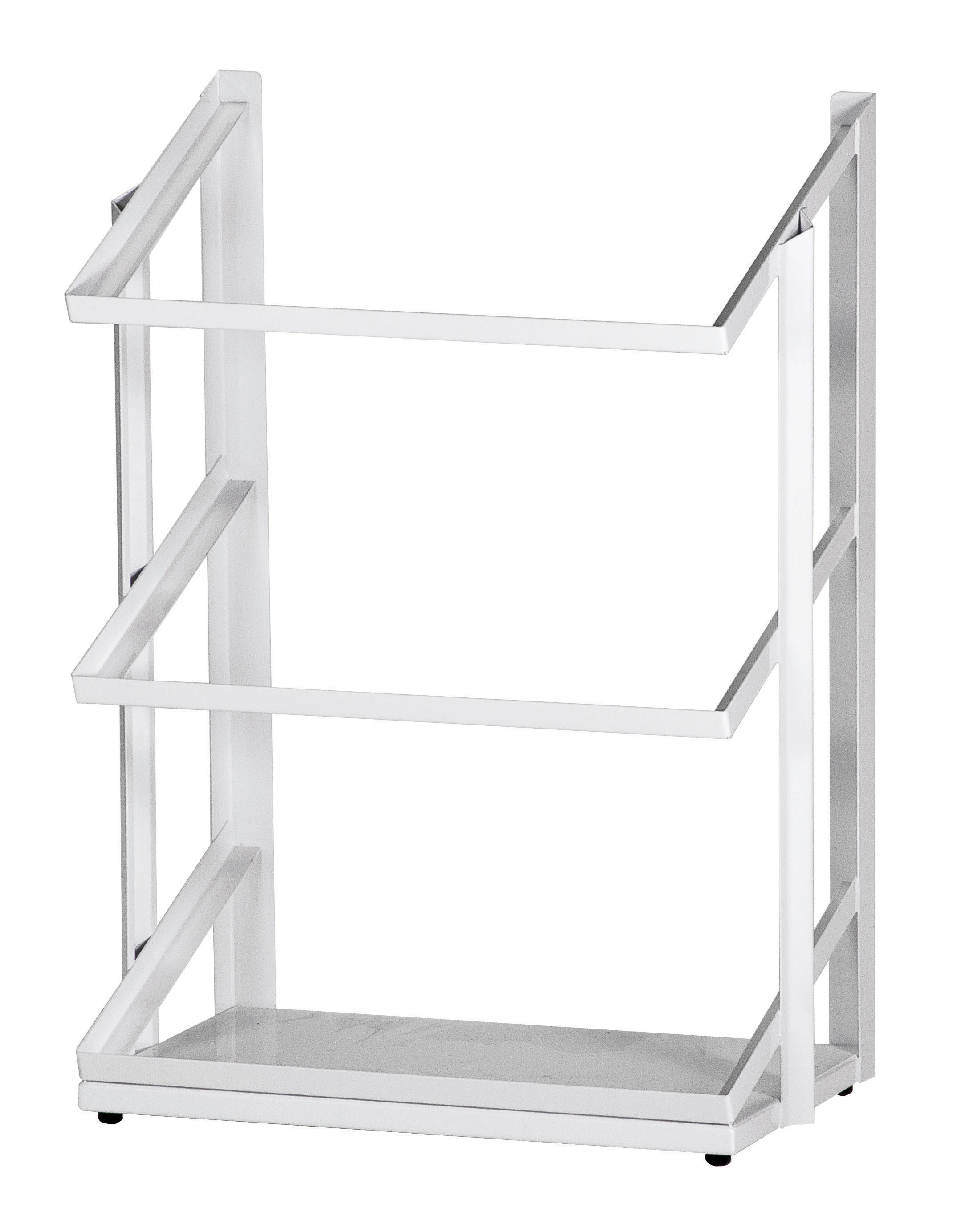 3 Basket Display Rack