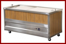 Heated Cabinet