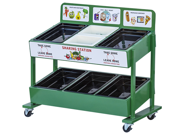 Sharing Station Cart 600X450