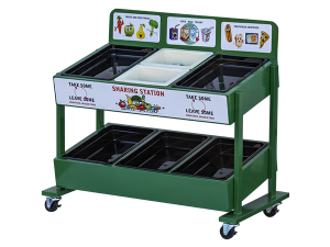 Sharing Station Cart 6 Pans