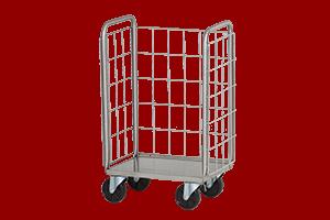 Tray Cart Wire Mesh 300x200 ol